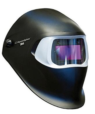 3M Speedglas 100 with auto darkening filter