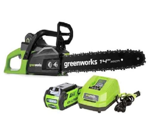 """Greenworks 14"""" Chainsaw"""