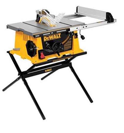 """Dewalt 10"""" Portable Table Saw"""