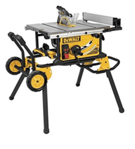 Dewalt table saw with stand and wheels