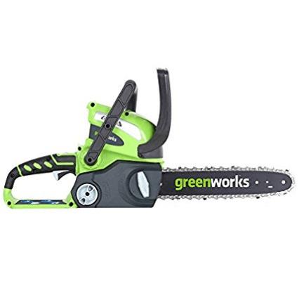 """GreenWorks 40V 12"""" Chain Saw"""