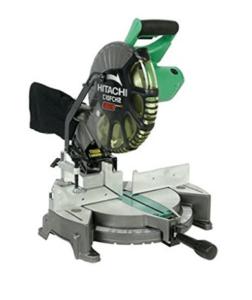 Hitachi C10FCH2 Compound Miter Saw with Laser Marker