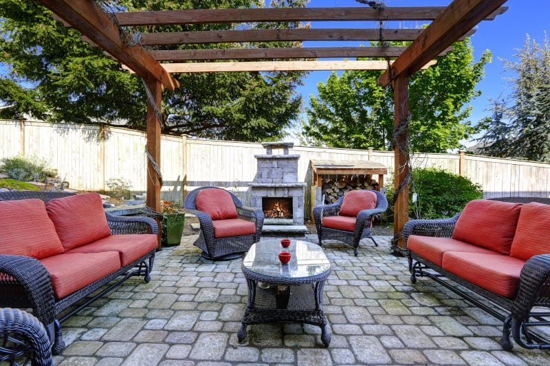 How To Clean Patio Furniture Canvas and Cushions