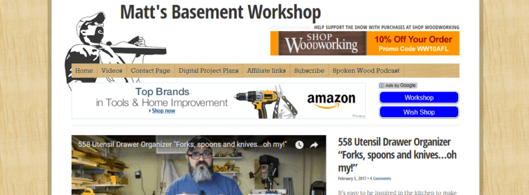 Matt's Basement Workshop