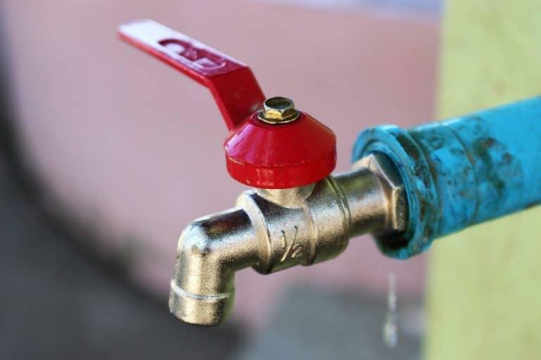 Plumbing water tap