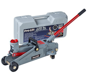 Pro-Lift 3000 Pound Hydraulic Car Trolley Jack