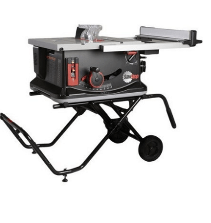 SawStop Table Saw with Cart