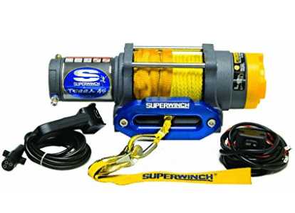 Superwinch Terra 45 ATV winch for snow plowing