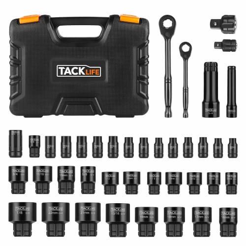 TackLife 40 Piece Multi-function Socket Set