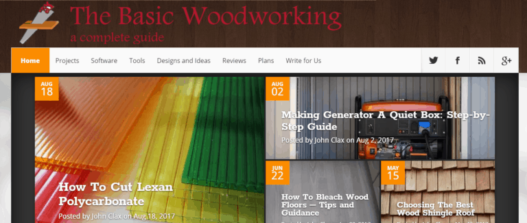 The Basic Woodworking