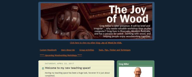 The Joy of Wood