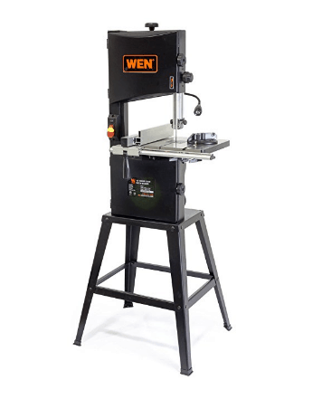 WEN 3962 Two-speed 10 inch Band Saw with Stand